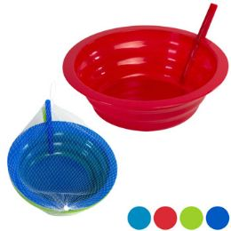 36 Units of Bowl 2pk W/built In Straw 21oz - Kitchen & Dining