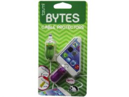 72 Wholesale Cord Bytes 2 Pack Monsters Cord Protectors