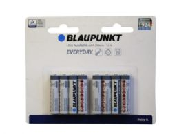 15 Units of Blaupunkt Everyday Alkaline 8 Pack Aaa Battery - Electronics