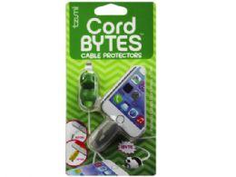 72 Wholesale Cord Bytes 2 Pack Shark And Dinosaur Cord Protectors