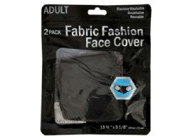 150 Units of 2 Pc Black Washable Mask - Face Mask