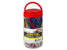6 Wholesale 24 Pack Heavy Duty Stretch Cord Set