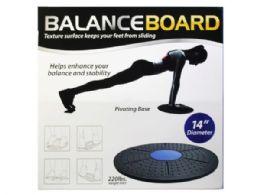6 Wholesale Balance Board Exercise Platform 2 Asst Colors