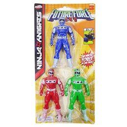 36 Units of Future Force Ninja Knights - 3 Piece Set - Action Figures & Robots