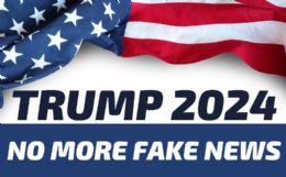 120 Wholesale Trump 2024 No More Fake News Bumper Stickers