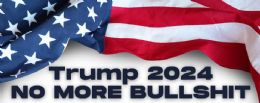 96 Wholesale Trump 2024 No More Bullshit Bumper Stickers