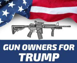120 Wholesale Trump 2024 Gun Owners For Trump Bumper Stickers