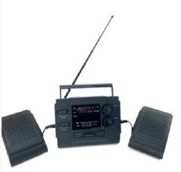 30 Units of Wholesale Am/fm Radio With Removable Speakers - Speakers and Microphones