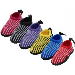 36 of Toddlers Wave Sea Shell Print Comfortable Water Shoes