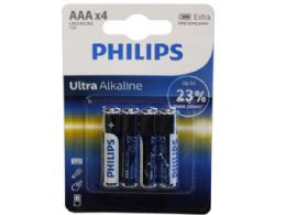 36 Units of Philips Ultra Alkaline 4 Pack Aaa Battery - Electronics