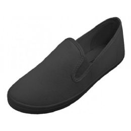 24 of Slip On Twin Gore Upper Casual Canvas Shoes