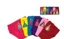 72 Units of Girl's Cotton Panty - Girls Underwear and Pajamas