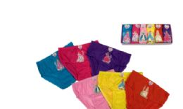 216 Units of Girl's Cotton Panty - Girls Underwear and Pajamas