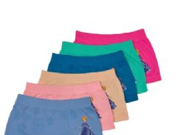48 Units of Girl's Seamless Boxers - Girls Underwear and Pajamas