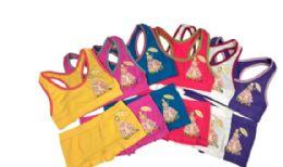24 Units of Girl's Seamless Racer Back Bra - Girls Underwear and Pajamas