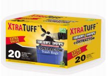 12 Units of Xtratuff Trash Bags Contractor 42 Gallon 20 Count - Garbage & Storage Bags