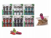 48 Wholesale Ideal Home Bag Clip Set With Magnet 6 Pack