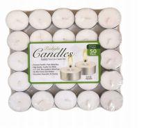 48 Bulk Candle Tealight 50 Pack Shrink