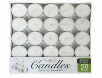 48 Bulk Candle Tealight 50 Pack Box
