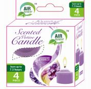 96 Bulk Air Fusion Votive Candle 4 Pack Lavender And Vanilla