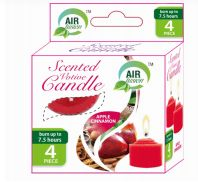 96 Units of Air Fusion Votive Candle 4 Pack Apple Cinnamon - Candles & Accessories