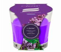 48 Units of Air Fusion Candle 4 Ounce Fresh Cut Lilac - Candles & Accessories