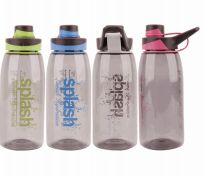24 Units of Splash Plastic Bottle 25.36 Ounce Twist Cap - Drinking Water Bottle