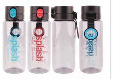 24 Units of Splash Plastic Bottle 25.7 Ounce Flip Cap With Lock - Drinking Water Bottle