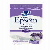 72 Bulk Wish Epsom Salt 16oz.bag Lavender