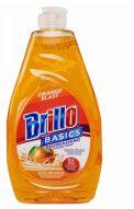 12 Units of Brillo Dish Liquid 24oz Orange - Soap Dishes & Soap Dispensers