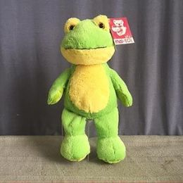 24 Units of 8.5 Inch Stuffed Frog With Beanie - Plush Toys