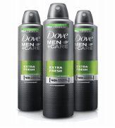 24 Units of Dove Body Spray 250ml Mens Care Extra Fresh - Deodorant