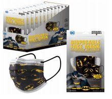 1200 Units of Dc Children Mask 10 Pack Batman - Face Mask