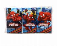 72 Units of Spider Man Tissue 6 Pack - Tissues