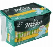 48 Units of Modess Ultra Thin Regular Pads 14 Count - Personal Care