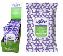 72 Units of Modess Feminine Wipes 32 Count Lavender - Personal Care