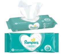 48 Wholesale Pampers Wipes 52 Count Sensitive