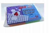 72 Units of Ufo Cellulose 4 Pack - Scouring Pads & Sponges