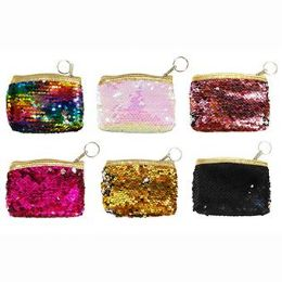 24 Units of Sequins Coin Purse - Coin Holders & Banks
