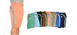 48 Units of Men's Assorted Color Bathing Suit, Size S-XL - Mens Bathing Suits