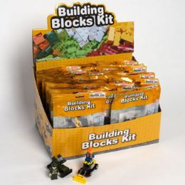 32 Units of Blocks Building Kit Pouch 32ast - Toys & Games