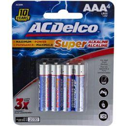 48 Units of Batteries Aaa 4pk Alkaline - Batteries