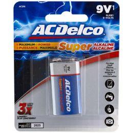 48 Units of Battery 9 Volt Alkaline - Batteries