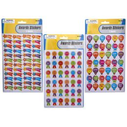 48 Wholesale Sticker Awards 2 Sheets/3ast