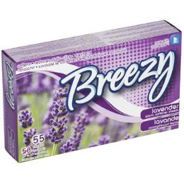24 Units of Dryer Sheets 55ct Lavender - Laundry  Supplies
