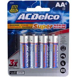 48 Units of Batteries Aa 4pk Alkaline - Batteries