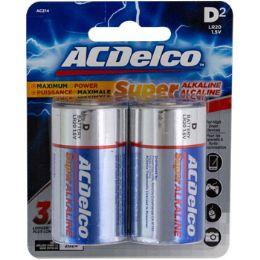 48 Units of Batteries D 2pk Alkaline - Batteries