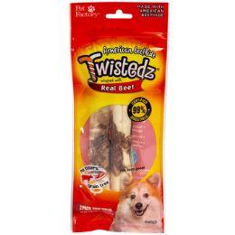 24 Wholesale Dog Treats Beef Meat Wrap