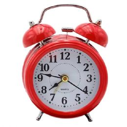 18 Wholesale Alarm Clock with Stereoscopic Dial Battery Operated Loud Alarm Clock