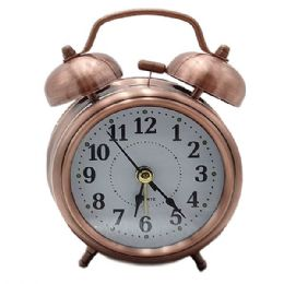 12 Wholesale Alarm Clock With Stereoscopic Dial Battery Operated Loud Alarm Clock